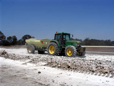 BULK AGRICULTURAL LIME– SOIL AMENDMENT – New South Wales, Pacific Highway Upgrade